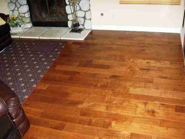 Hardwood Floor In Carmel Valley