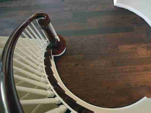 Hardwood refinishing in Cardiff 13B