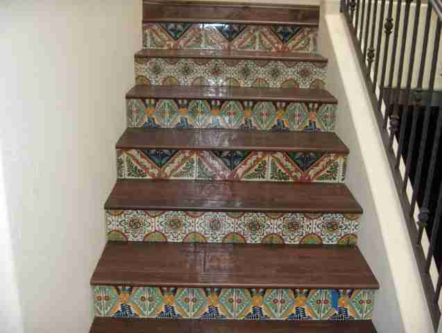 Custom Hardwood stairs in Solana Beach