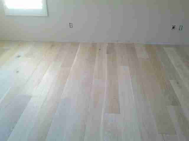 French White Oak Hardwood install