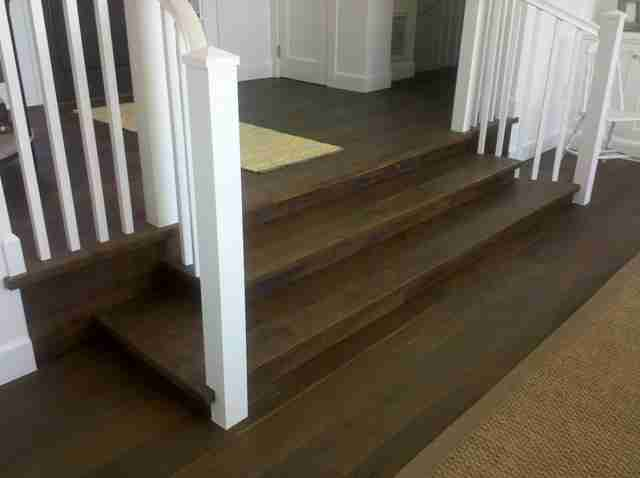 wood floors solana beach Custom Hardwood Stairs 1