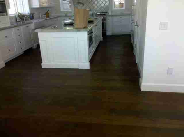 wood floors solana beach kitchen
