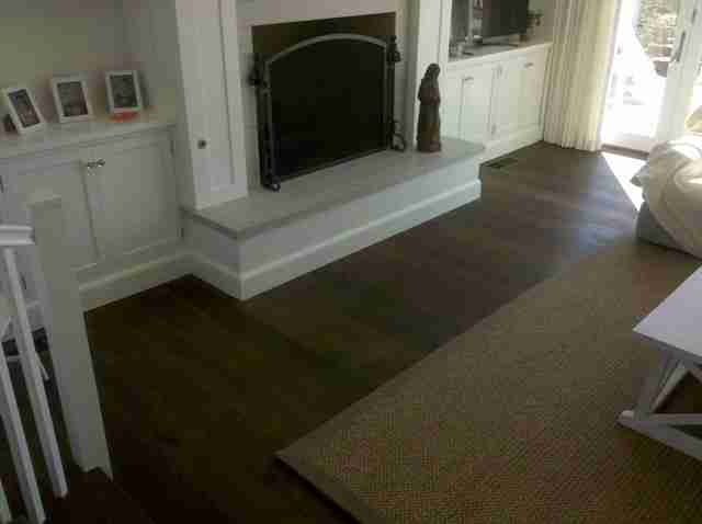 wood floors solana beach living room