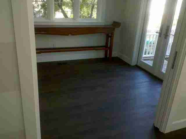 wood floors solana beach office